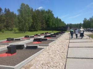 Khatyn Monument nearby Minsk, Belarus