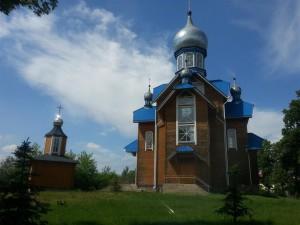 Church in Belarus village