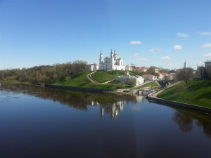 Vitebsk along the Dvina river, Belarus