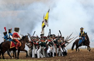 Napoleon at Berezina, Belarus