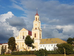 Bernadino church in Grodno, Belarus