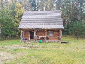 Belarus hunters hut
