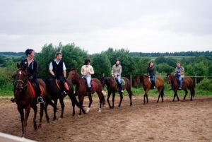 Horse riding in Belarus