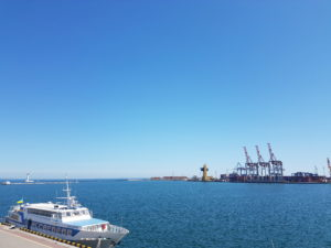 Odesa harbour, Ukraine