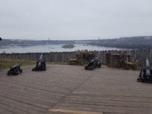 Khortytsha island nearby Zapo, Ukraine