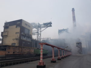 Coke plant in Kryvyi Rih, Ukraine